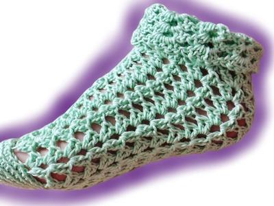 Sommer-Socken Häkelanleitung [Fortgeschrittene]