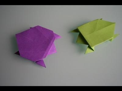 Origami Schildkröte turtle