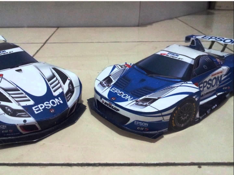 Racing Cars PaperCraft