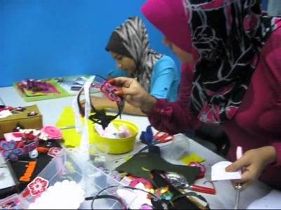 Felt craft jemari alwiya darwisya