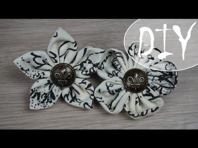Schöne Stoffblumen ~ (DIY. Tutorial)