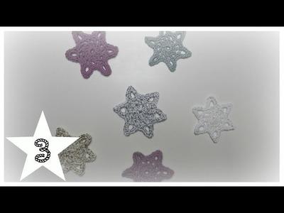 Türchen 3| Kristallstern| biggihäkelt