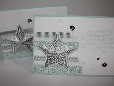 3D Weihnachtskarte - Stampin' Up - Deutsch