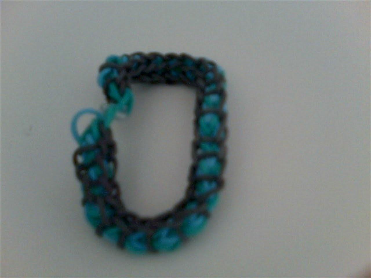 Rainbow Loom Spiral Armband Deutsch #8