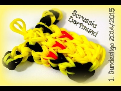Borussia Dortmund Trikot 2014.2015 Rainbow Loom Bands Fußball 1. Bundesliga (neues Video HD)