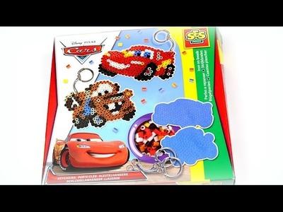 DIY Bügelperlen Ideen - SES Creative Disney Cars Schlüsselanhänger