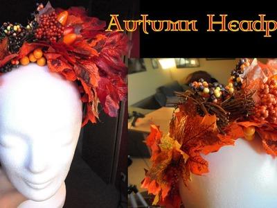 DIY Herbst-Headpiece
