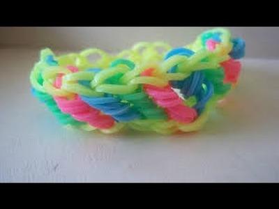Rainbow Loom Rotini Armband Braclet  Deutsch
