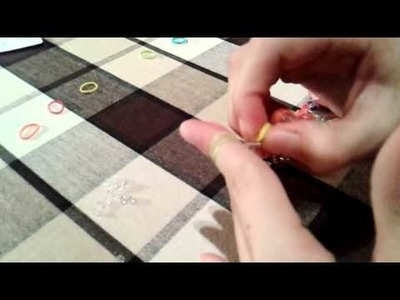 Rainbow Loom Verschlußclip Armband