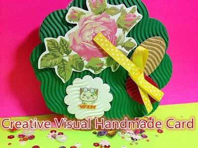 DIY Grußkarten Delicate mini kreative Handarbeit Fun Lehrplan 00944+de