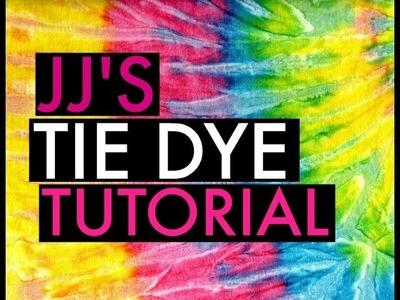 JJ'S TIE DYE TUTORIAL