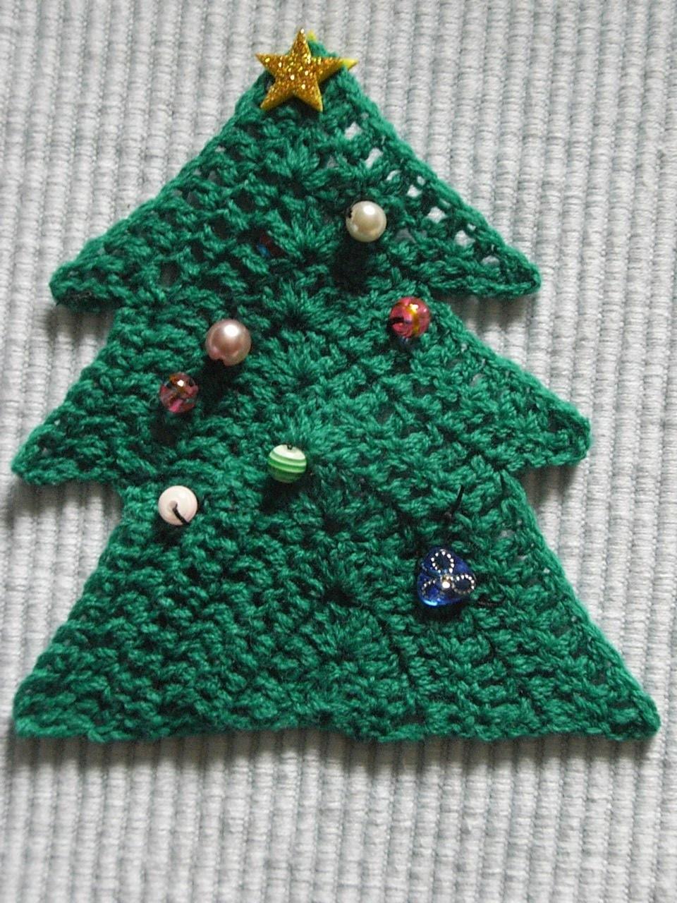 Tannenbaum Häkeln Weihnachtsdekoration Christmas Decoration Tutorial