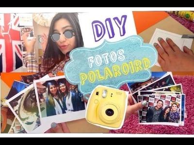 DIY: Fotos POLAROID!