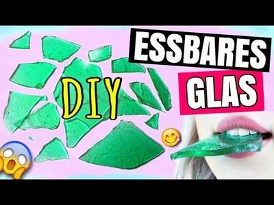 DIY ESSBARES GLAS selber machen ✨ | DIYS Deutsch 2016 | Louyuna