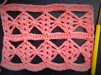Moderna heklana mustra (Modern Crochet Pattern)