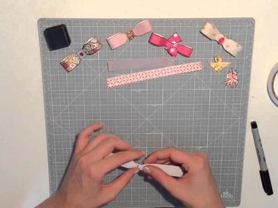 [Resteverwertung]Papierschleifen Tutorial