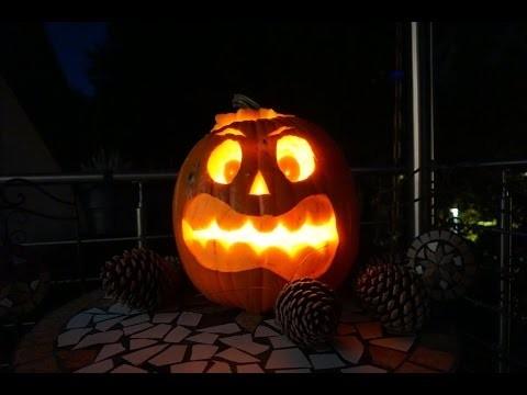 DIY - Halloween Kürbis schnitzen