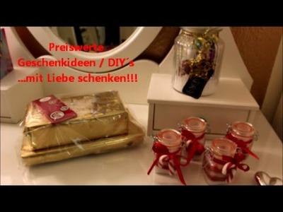 Preiswerte GESCHENKIDEEN - DIY´s - Verpackungsideen !!! deutsch + HD