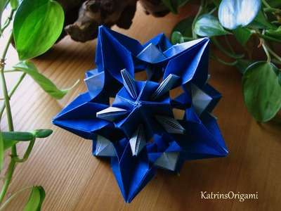 Origami ᘠ♥ᘡ Xenia ᘠ♥ᘡ Kusudama