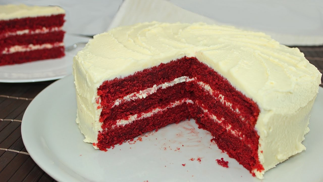 Red Velvet Cake Cream Cheese Frosting Mascarpone