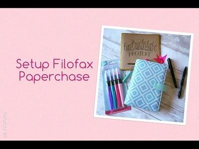 Setup Filofax for Paperchase   handlettering   doodle   deutsch   filolove_