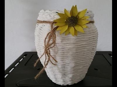 Aus einem Gurkenglas eine Vase Zaubern