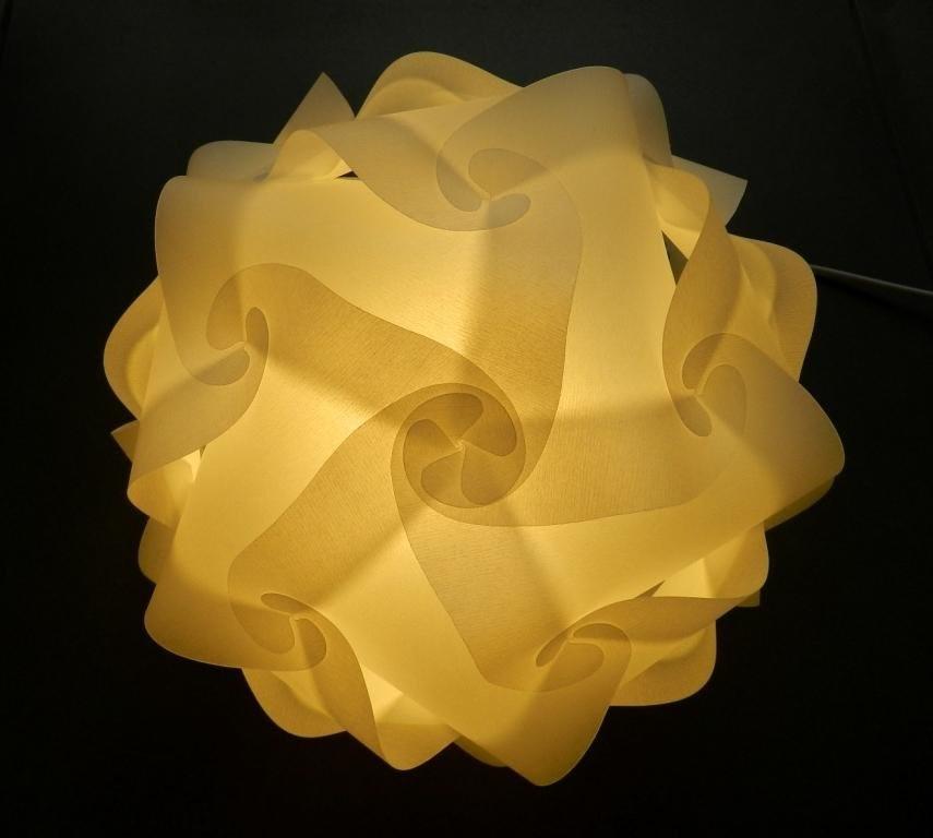 enduro puzzle lampe. Black Bedroom Furniture Sets. Home Design Ideas