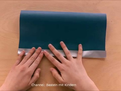 Papiertüten falten - Leichte Papiertaschen basteln - Basteln Ideen - Geschenkverpackung