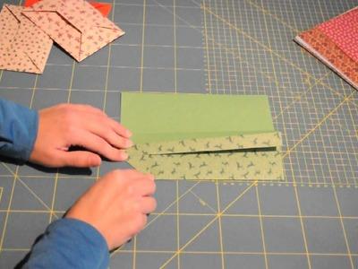 Last-Minute-Briefumschlag falten - Teil 1