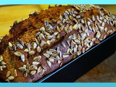 Dinkel Vollkornbrot backen - 5Minuten Brot Rezept