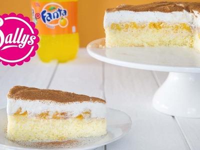 Fanta Schnitte. Fanta Kuchen. Fanta Torte. Sallys Classics