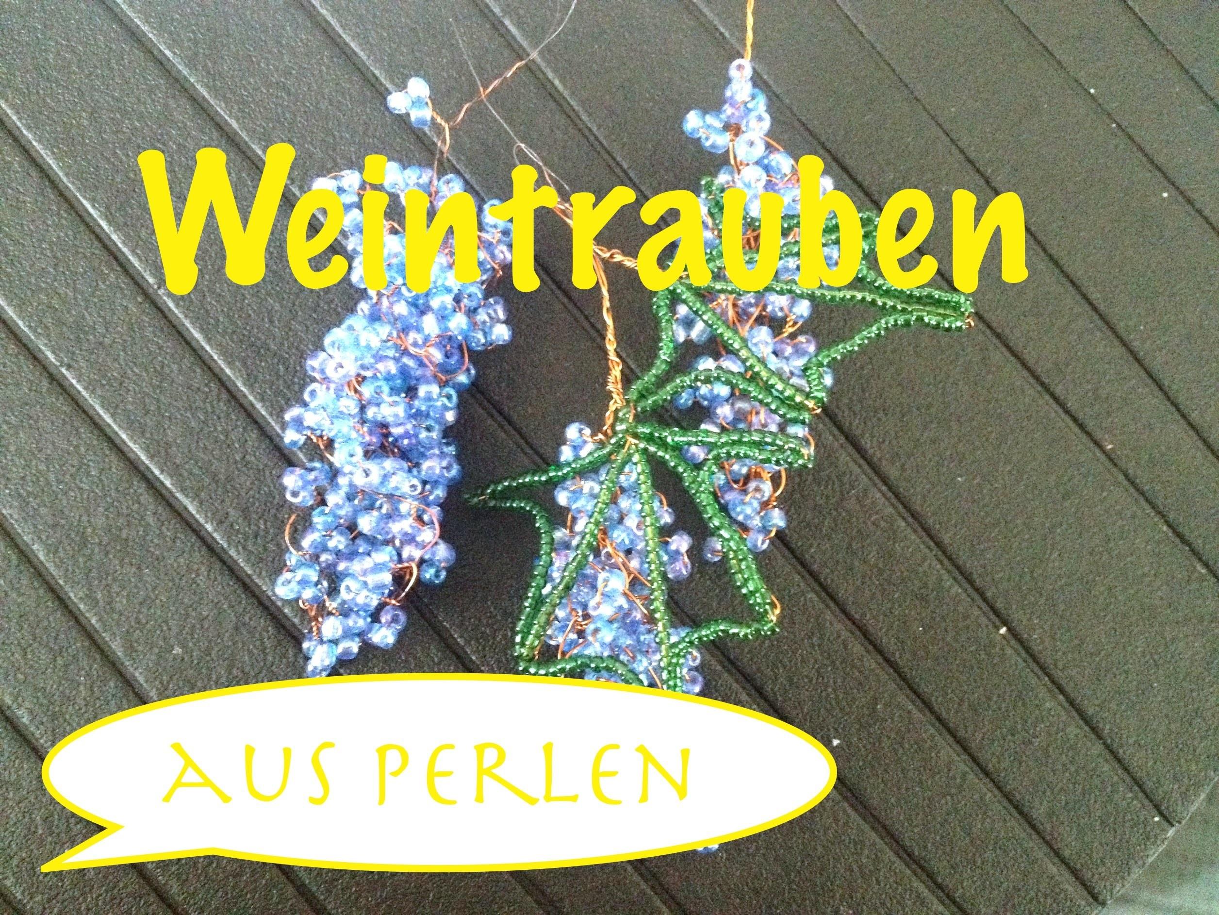 Glasperlen. Weintrauben. Teil 1.3 Beaded Grapes.Anna's Perlen.