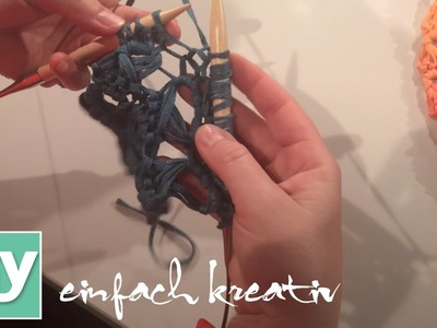 Broomstick-Technik Stricken | DIY einfach kreativ
