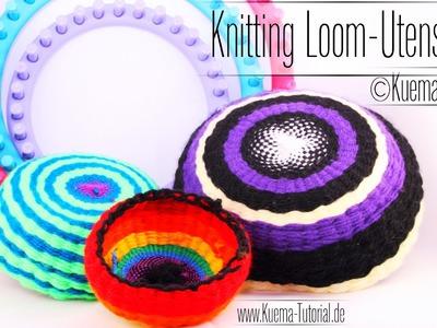 Knitting Loom - Schale Utensilo bowl