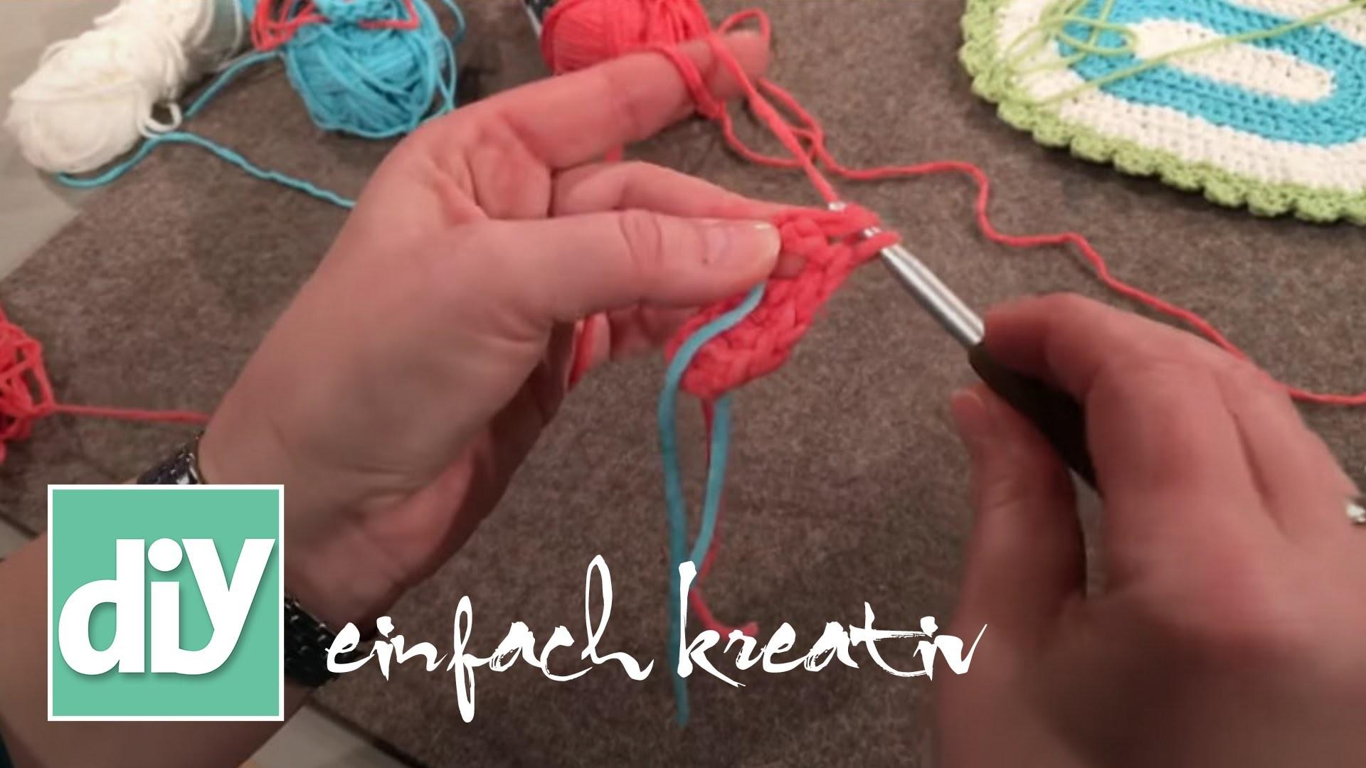 Tutorial: Stäbchen häkeln   DIY einfach kreativ