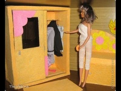 Barbie möbel selber basteln. Barbie möbel selber machen.