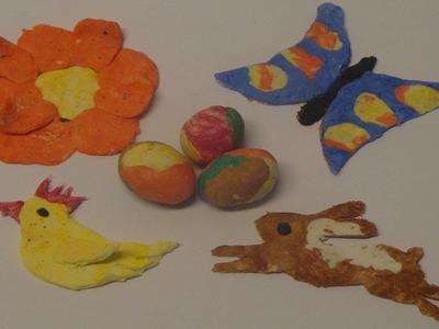 Bastelideen mit Ton für Ostern ❁ Deko Ideen mit Flora-Shop