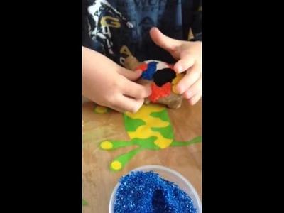 Basteln mit Foam Clay