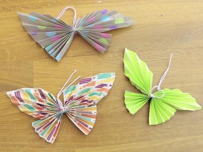 Frühlings-Deko selber machen - Schmetterlinge DIY | schön-einpacken