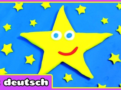 Knete funkeln funkeln kleiner stern - Twinkle Twinkle Little Star Playdoh | Playdoh Creations
