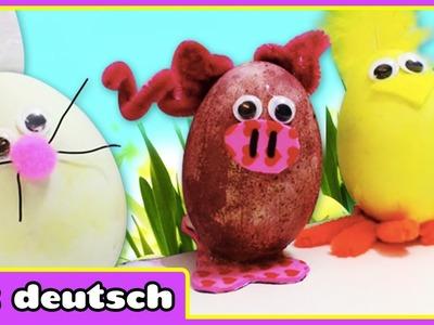 Ostern spezielle Tierdekoration auf Eier - Easter Special Animal Decoration on Eggs | Selbermachen