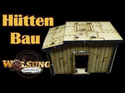 Zusammenbau Hütten für Wolsung Steampunk und andere Tabletop Spiele - Deutsch Full HD