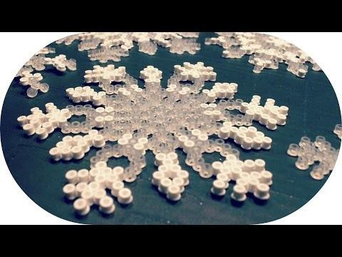 DIY | Eiskristalle aus Bügelperlen
