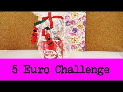 DIY Inspiration Challenge #35 Geschenke für unter 5€ | Evas Challenge | Tutorial - Do it yourself