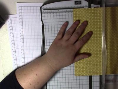 Tutorial: Deckel für quadratische Boxen berechnen - Stampin' Up!