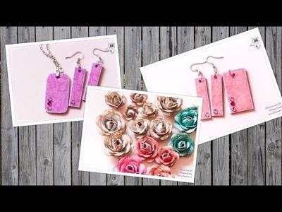 Craft-Update: Rosen und Schmuck aus Papier