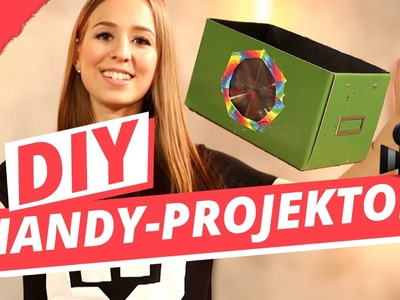 DIY Handy Projektor im TEST  | DIY or DI Don't w.Cali Kessy