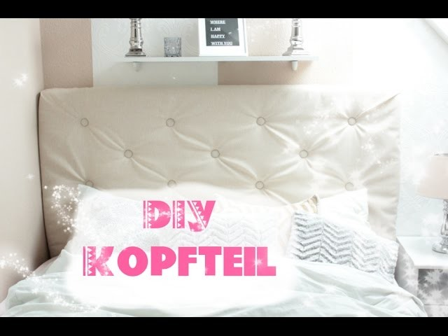diy kingsize bett kopfteil einfach selber machen. Black Bedroom Furniture Sets. Home Design Ideas
