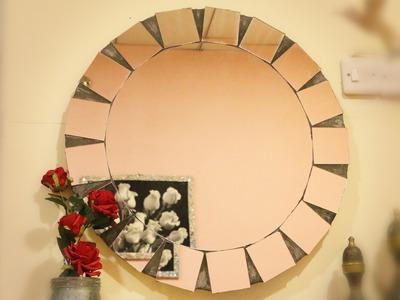 DIY: Sunburst Mirror Frame - Kare dasti