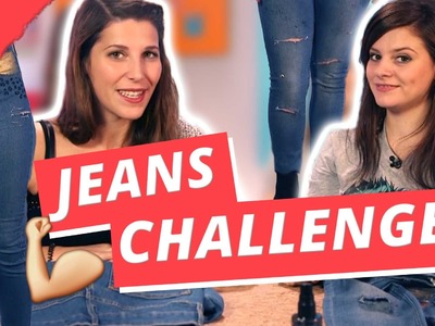 Pimp My JEANS Challenge - DIY or DI-Don't.w Holy Chic
